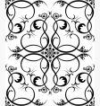 Renaissance wallpaper vector image vector image