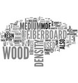 what is medium density fiberboard and what is it vector image vector image