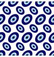 seamless - turkish eyes vector image