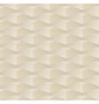 3d beige seamless pattern vector image