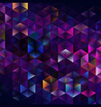 abstract geometric triangular pattern vector image