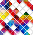 Abstract multicolored with small net vector image vector image