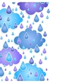 background for text with drops of a rain vector image vector image