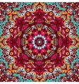 doodle seamless mandala pattern background vector image vector image