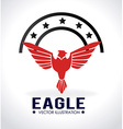 Eagle signal vector image