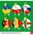 Football Kit 3 vector image vector image