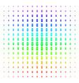 newborn shape halftone spectral pattern vector image vector image