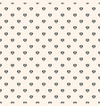 seamless pattern with tiny hearts minimalist vector image vector image