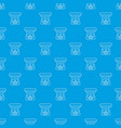 spa aroma bottle pattern seamless blue vector image vector image