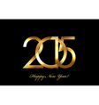 2015 Happy New Year background vector image vector image