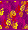 abstract safari style flower seamless pattern vector image