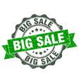 big sale stamp sign seal vector image vector image