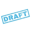 Draft Rubber Stamp vector image vector image