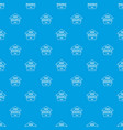 gmo free research pattern seamless blue vector image