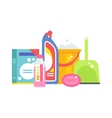 Home chemistry isolated vector image