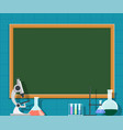 laboratory or chemistry class vector image