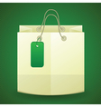 paper bag vector image vector image
