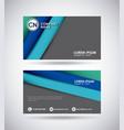 presentation card design vector image vector image
