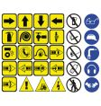 safety signs vector image