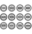 Set award stamp for design studios vector image vector image