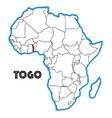 togo vector image vector image