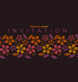 abstract safari style flower design element vector image