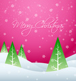 beautiful christmas design vector image