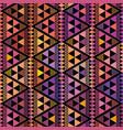 purple pink and orange triangle geometric design vector image