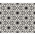 Seamless Black and White Lace Floral vector image vector image