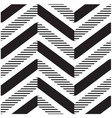 seamless chevrons pattern background image vector image