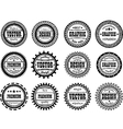 Set award stamp for studios vector image vector image