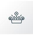 window plant icon line symbol premium quality vector image