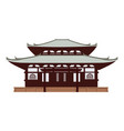 japan temple vector image