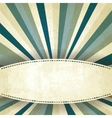 blue striped old background vector image vector image
