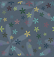 ornamental seamless patterns vector image vector image