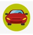 Parking or park zone design vector image