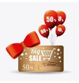 Shopping special offers discounts and promotions vector image