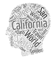 Travel California Certainly The Golden State text vector image vector image