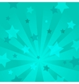 Abstract background with stars and rays vector image