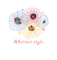 abstract bright background vector image vector image
