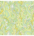 Colorful paisley wave seamless pattern