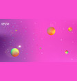 funny abstract space background picture blur vector image
