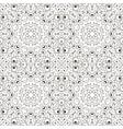 mandala coloring zentangl seamless ornament relax vector image