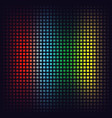 red blue green and yellow squares vector image vector image