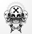 Skull Graphic vector image