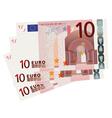 10 Euro bills