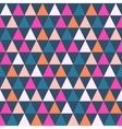 Abstract color pattern of geometric shapes vector image vector image