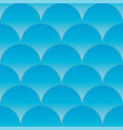 blue cut wave seamless pattern sea background vector image vector image