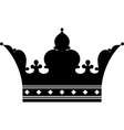 Crown Silhouette vector image