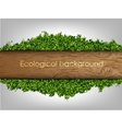 environmental background of the banner vector image